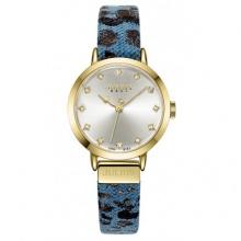 Đồng hồ nữ Julius Hàn Quốc dây da JA-976 JU1222 (xanh)