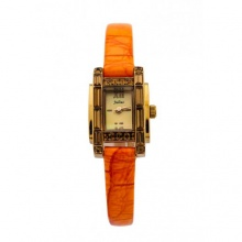 Đồng hồ nữ Julius Hàn Quốc dây da JA-670 JU1026 (nâu cam)