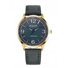 Đồng hồ nữ Julius Hàn Quốc dây da JA-940 JU1181 (xanh rêu đậm)