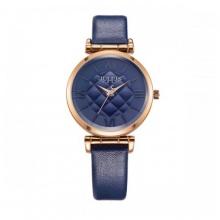 Đồng hồ nữ Julius Hàn Quốc dây da JA-956D JU1177 (xanh)