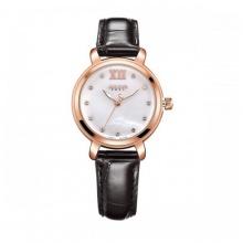 Đồng hồ nữ Julius Hàn Quốc dây da JA-945 JU1178 (đen)