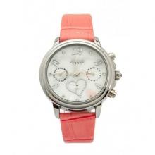 Đồng hồ nữ Julius Hàn Quốc dây da JA-844 JU1016 (hồng)