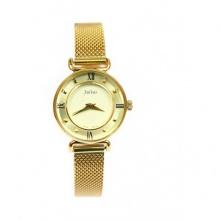 Đồng hồ nữ Julius vành khuyên dây mịn JA-728 JU964 (vàng)