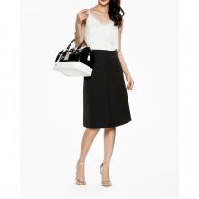 Mimi - Chân váy đen xẻ tà trước