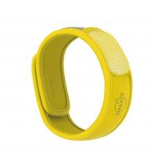 Viên chống muỗi PARA'KITO™ kèm vòng đeo tay bằng vải màu vàng (2 viên chống muỗi)