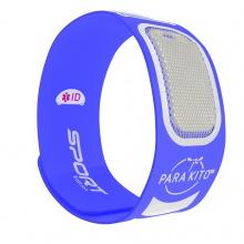Sản phẩm chống muỗi PARA'KITO™ kèm vòng đeo tay thể thao cá tính màu xanh