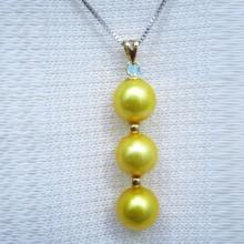Mặt dây chuyền tự nhiên mạ vàng 14k - MDC116