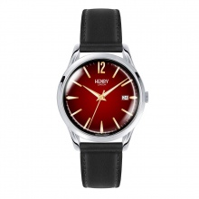 Đồng hồ Henry London HL39-S-0095 CHANCERY  (Đen mặt đỏ)