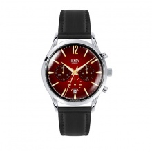 Đồng hồ Henry London HL41-CS-0099 CHANCERY (Đen mặt đỏ)