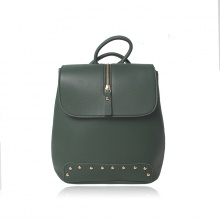 Balo thời trang Verchini màu xanh rêu 008786