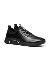 Giày sneaker nam thời trang Zapas - GZ025 (Màu đen)