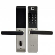Khóa cửa vân tay-thẻ-mật mã Baling NF21 (màu bạc)