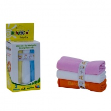 Khăn sữa BabyOne (2 lớp) - SS0642 - HELLO B&B