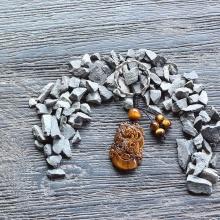 Móc khóa 12 con giáp đá mắt hổ - tuổi Tỵ - Ngọc Quý Gemstones