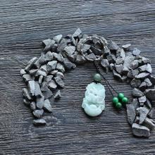 Móc khóa 12 con giáp cẩm thạch tuổi Mão - Ngọc Quý Gemstones
