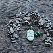 Móc khóa 12 con giáp cẩm thạch - tuổi Dần - Ngọc Quý Gemstones