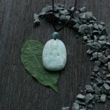 Văn Thù Bồ Tát đá cẩm thạch (Trung: 3 x 2.3 cm)