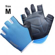 Găng tay tập gym ôm cổ tay (BLUE) găng tay nâng tạ, độ bám cao, thoáng khí, thoát mồ hôi POPO Collection (Xanh biển - size M)