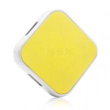 HUB USB 4 cổng SSK SHU029 (Vàng)