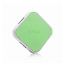 HUB USB 4 cổng SSK SHU029 (Xanh lá)