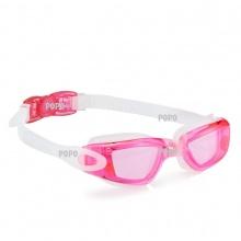 Kính bơi thời trang cao cấp 2360, mắt kính trong, chống UV, chống hấp hơi POPO Collection (Hồng)