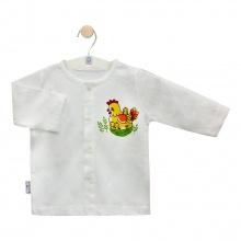 Áo cài giữa trắng TD AL0001 (hình ngẫu nhiên) - HELLO B&B - Size 1,2