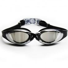 Kính bơi thời trang cao cấp G300, tráng gương chống lóa, chống uv, POPO Collection (Đen)