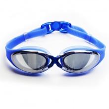 Kính bơi thời trang cao cấp G300, tráng gương chống lóa, chống UV POPO Collection (Xanh biển)