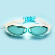 Kính bơi thời trang cao cấp G300, tráng gương chống lóa, chống UV POPO Collection (Xanh ngọc)