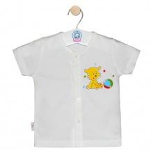 Áo cài giữa trắng tay ngắn AL0002 - Size 5,6 - (hình in ngẫu nhiên) - HELLO B&B