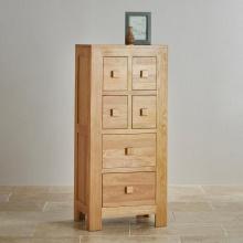 Tủ 6 ngăn kéo đứng Capri gỗ sồi - Cozino
