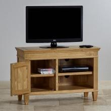 Tủ tivi Holy 1 cánh 2 ngăn gỗ sồi 1m - Cozino