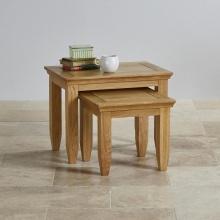 Bộ bàn xếp lồng Holy gỗ sồi - Cozino
