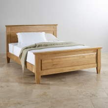 Giường đôi Holy gỗ sồi 1m8 - Cozino