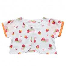Áo khoác lửng bé gái AL0685 (Cam nhạt) - HELLO B&B - Size 5,6,7