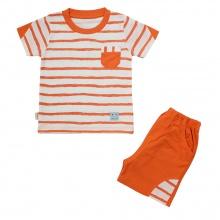 Bộ ngắn bé trai BabyOne - BN0920 - Size 6M, 12M, 18M, 24M, 36M ( Cam ) - HELLO B&B