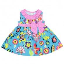 Đầm bé gái - DA0708 - 6M, 12M, 18M, 24M, 36M - V 36.2 - HELLO B&B