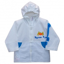 Áo khoác mỏng (nón) - AN0164 - Size 3, 4 ( Xanh dương ) - HELLO B&B