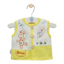 Áo ghilê màu - AN0333 - Size 5 ( Vàng - Mẫu ngẫu nhiên ) - HELLO B&B