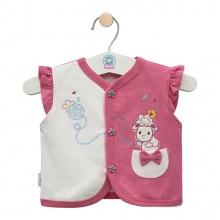 Áo ghilê màu - AN0333 - Size 3, 4 ( Hồng ) - HELLO B&B