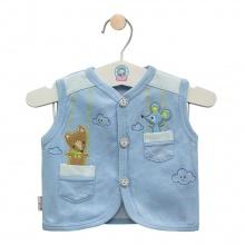 Áo ghilê màu - AN0333 - Size 3, 4 ( Xanh dương - Mẫu ngẫu nhiên ) - HELLO B&B