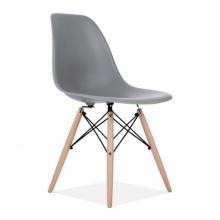 Ghế CZN-Eames màu xám chân gỗ - COZINO