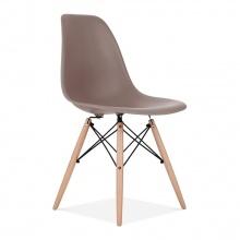 Ghế CZN-Eames màu cafe chân gỗ - COZINO