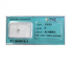 Viên kim cương tự nhiên 3,6 ly - KC009
