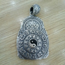 Măt dây chuyền bạc Thái