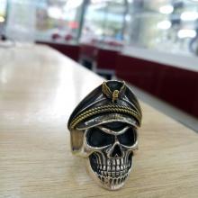 Nhẫn cướp biển bạc nam Hadosa