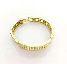 Lắc tay nữ bạc mạ vàng 18k - LACTN02