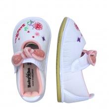 Giày bé gái BabyOne SS0833 - HELLO B&B - Size 19,20,21(Màu trắng)