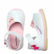 Giày sandal bé gái BabyOne SS0812 (Trắng) - HELLO B&B