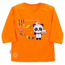 Áo nút vai màu tay dài AL0609 - HELLO B&B - 5,6 (Màu cam)